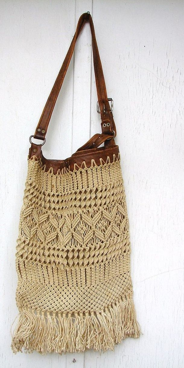 Basket Making Supplies San Diego : Kids macrame bag shoulder travelon