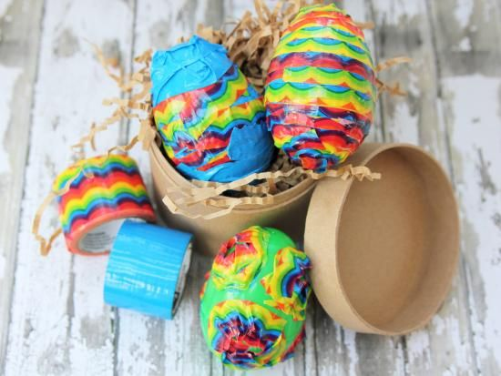 """""""Decorative Duct Tape Easter Eggs"""""""