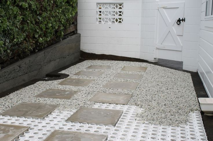 Surepave is a plastic cellular paving grid for reinforcing for Surface design landscape