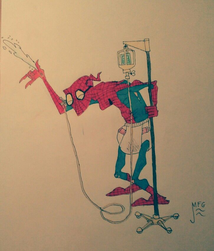 Old spiderman..