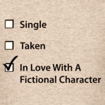 Swooning over fictional characters... but they are real to me! Actually miss them when I finish a series!