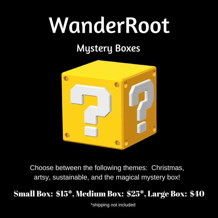 Mystery Box, Mystery Box of Awesome, Mystery Box Art