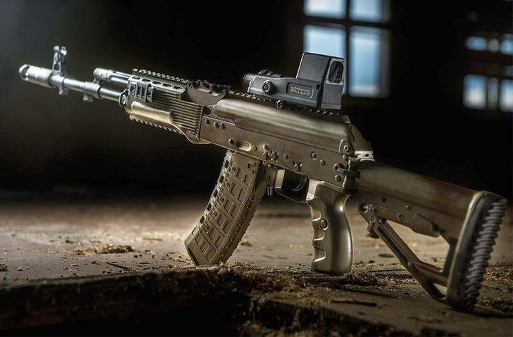 AK-12, 5,45x39mm Speed up and simplify the pistol loading process  with the RAE Industries Magazine Loader.