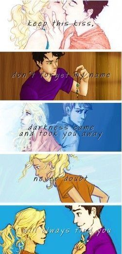 #wattpad #fanfiction This story contains the best Percabeth scenes in Annabeth's point of veiw. [COMPLETED]