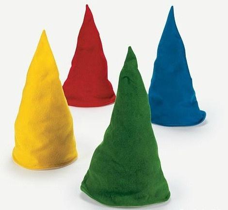 Pattern For Seven Dwarfs Hats Adults