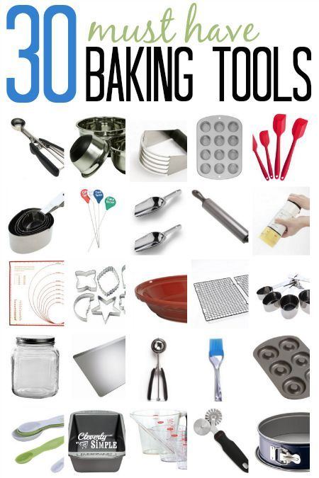 Check out my top 30 baking equipment and tools that I use to save time as well as save my sanity in the kitchen. These baking tools are top quality and have stood the test of time.