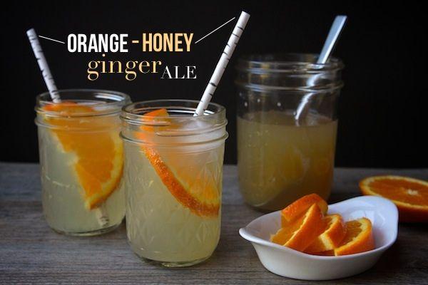 Orange Honey Ginger Ale – Shutterbean