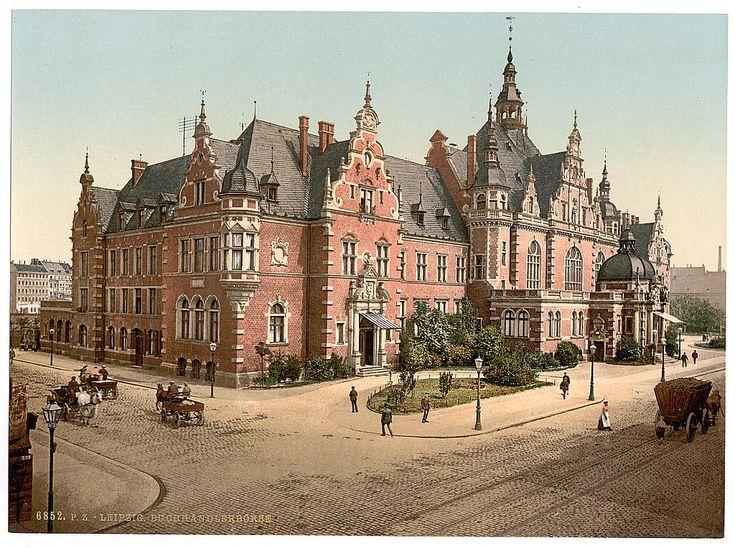 Historic pre-war photos of German cities - Leipzig