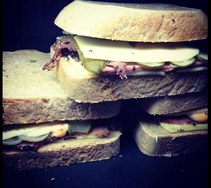 Are you ready for THE REUBEN? It's the ultimate deli sandwich! #lunch #food #Foodie