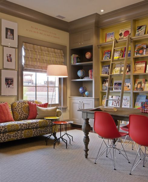 Library Room Design