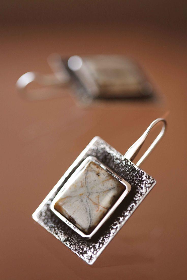 plata / piedra cruz