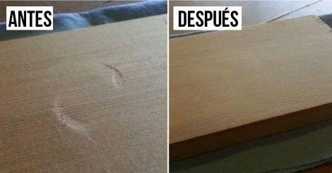 Cómo quitar abolladuras de la madera ¡en treinta segundos!