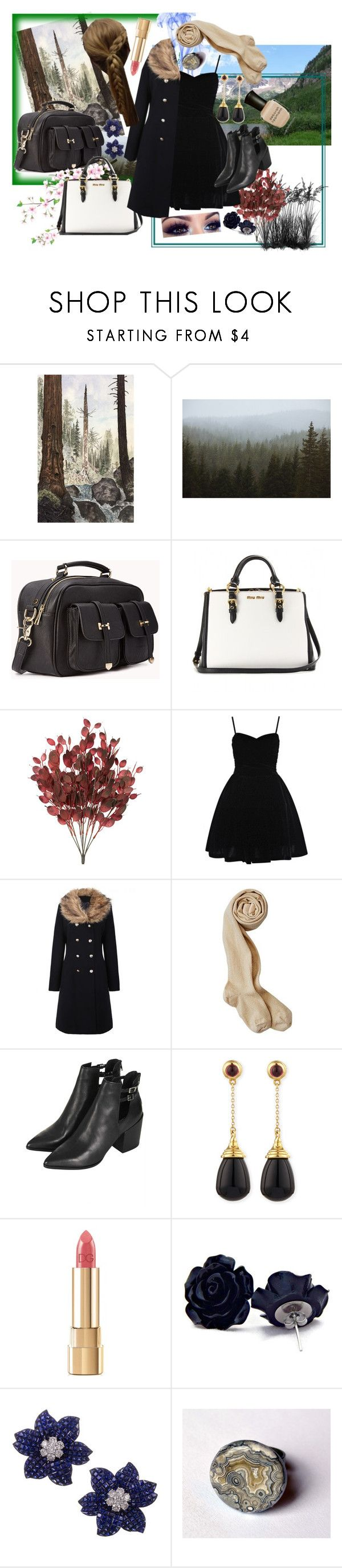 """Charley's Funeral Wear"" by thewhoreofcookies ❤ liked on Polyvore featuring Kevin Russ, Forever 21, Miu Miu, Coast, Topshop, Syna, Dolce&Gabbana, Deborah Lippmann and twilight"