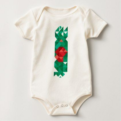 Abstract Bangladesh Flag Bangladech Colors Baby Bodysuit - red gifts color style cyo diy personalize unique