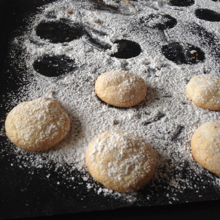 Italienska mandelkakor med citron - milkandacookie.blogg.se