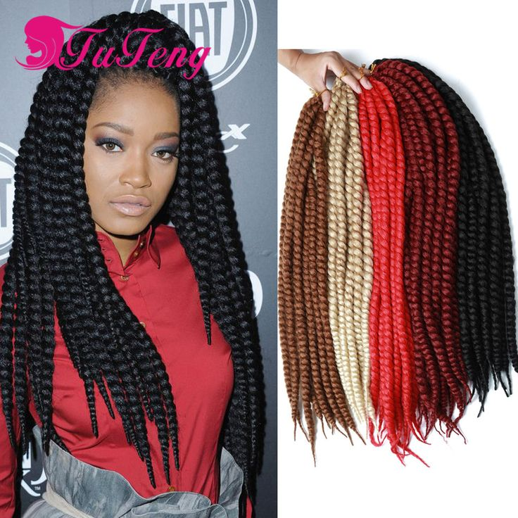 crochet xpression synthetic braiding hair extension senegalese crochet ...