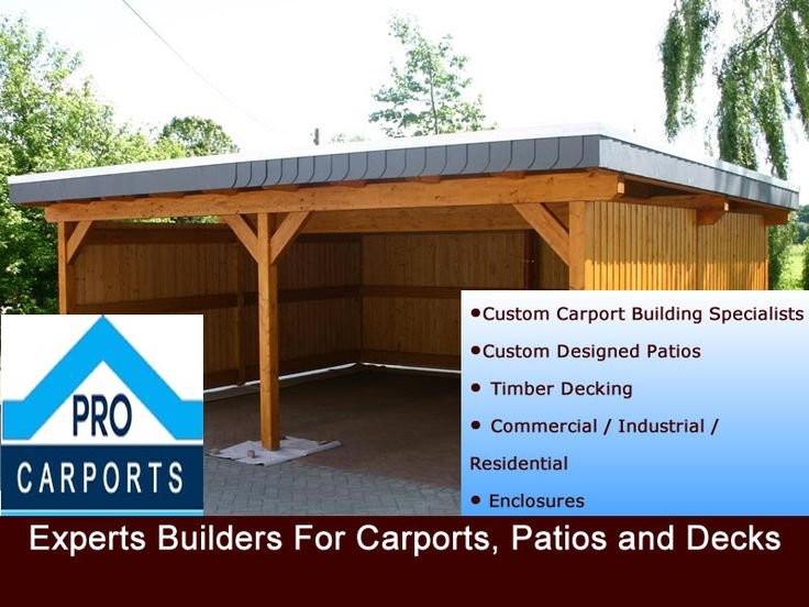 To Hire Experts Builder for Carports, Patios and Decks Visit Pro Carports Brisbane