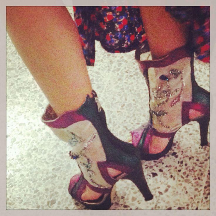 Zapatos coleccion amor en paris