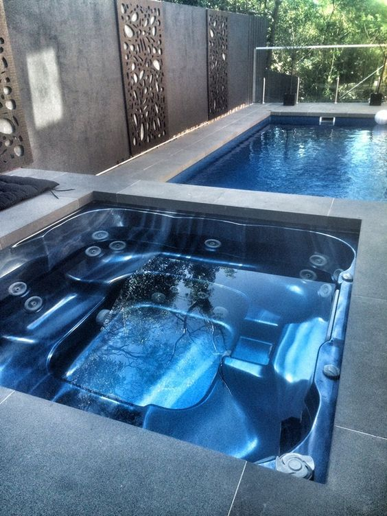 Pin By Christine Long On Great Hot Tub Inspiration Indoor Pool Design Pool Hot Tub Jacuzzi Outdoor