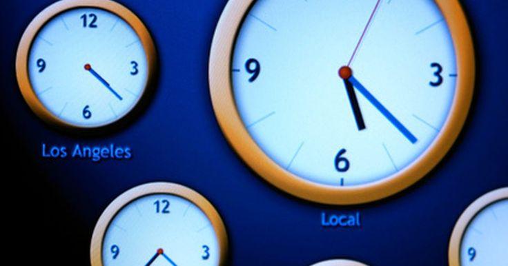 Como alterar o fuso horário em um relógio G-Shock. O relógio G-Shock é um relógio masculino que possui várias funções. Não apenas movido à energia solar, também usa um sinal de rádio para manter uma medição precisa do tempo. Quando você inicialmente configura o fuso horário do seu G-Shock, ele manterá a hora certa. Se você mudar para um novo fuso, entretanto, precisará mudar a hora. O G-Shock é ...