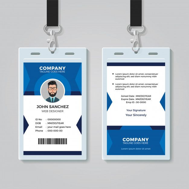 Id Card Template Id Card Template Card Template Free Printable Business Cards