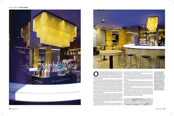 Libelula chair, design by Claire Davies for Indesign Living, Zona Abierta restaurant in Girona, Catalunya.