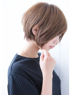 Short bob to tapered nape