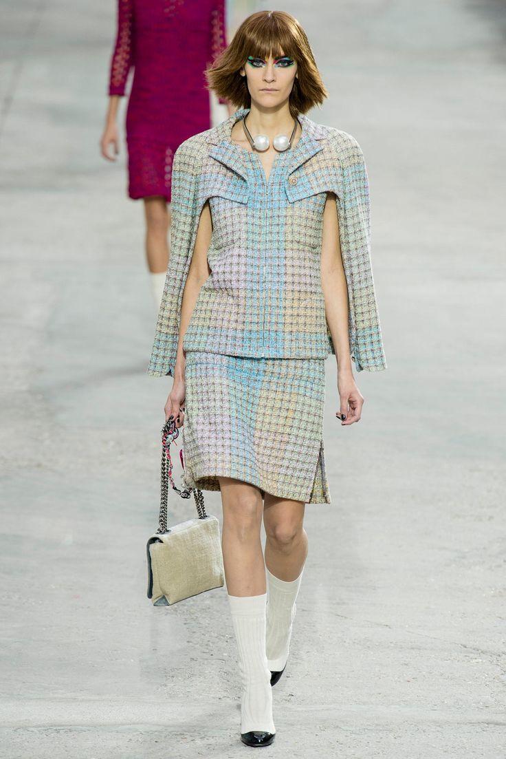 Chanel Spring 2014 Ready-to-Wear Fashion Show - Fia Ljungstrom (IMG)