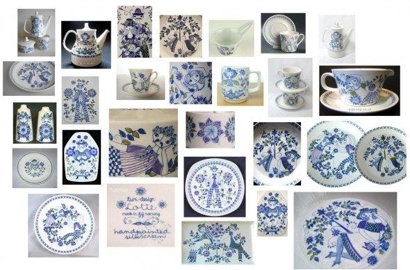 I love Figgjo Turi-design Lotte ceramic plates, cups,