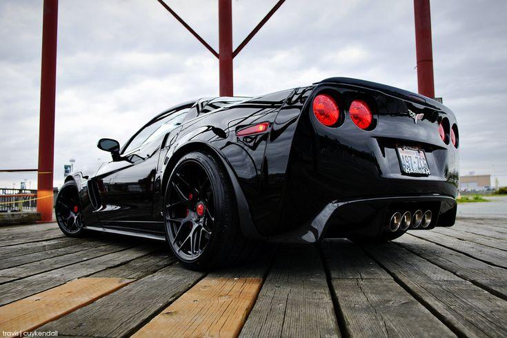 Corvette Z06 with HRE Wheels