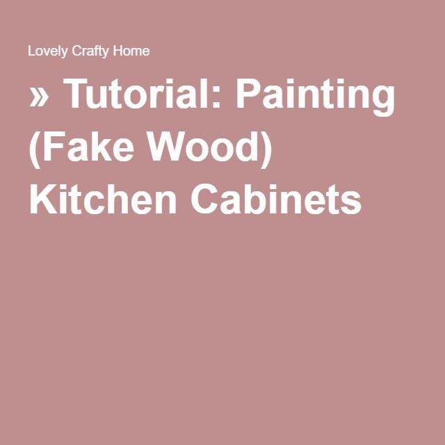 Best 25 Painting Fake Wood Ideas On Pinterest Diy Bathroom Remodel Diy Basement Furniture