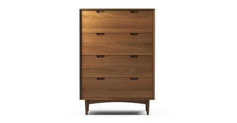 Ethan Large Chest of Drawers - Walnut
