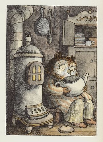 Owl at Home By Arnold Lobel  Illustrated by Arnold Lobel