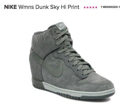 Grey Nike Wedge sneakers: wish list shoes