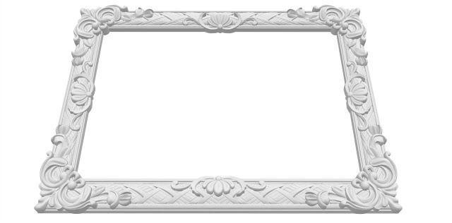 3d mirror frame free stl Mirror frames, 3d mirror, Mirror