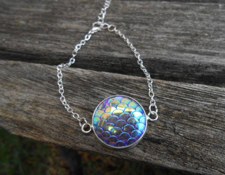 Mermaid Bracelet. Unique Gift For Girls, Mom, Bridesmaid, Flower Girl, Birthday, Favors. by TreeTownPaper on Etsy