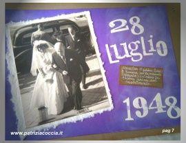 #Album  #di  #famiglia #Eumene & #Clara realizzato a mano con la tecnica dello  #scrapbooking - PAG 7