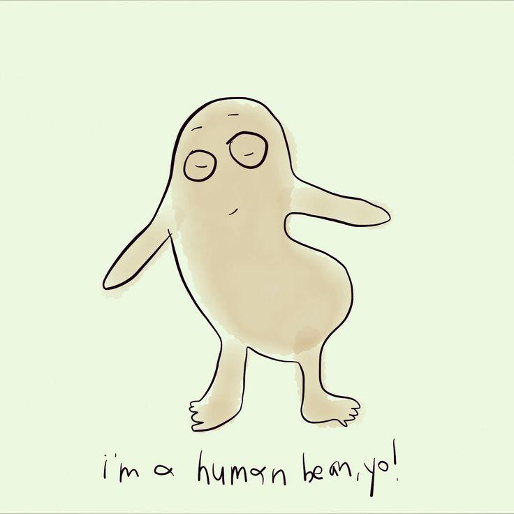 Human Bean // by Whitney Davis