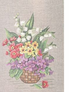 Gallery.ru / Фото #16 - Живописная вышивка гладью. Цветы и плоды - Vladikana
