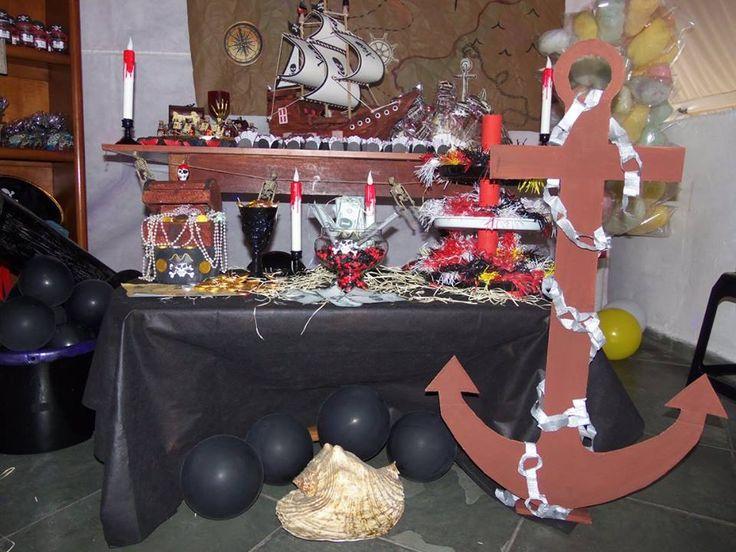 Festa do pirata, feita por nós... Festinha no terracinho de…