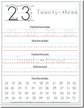 Good morning! Are my 1-20 Preschool Number Writing worksheets too easy for your student? If so, you might be ready to move on to more number practice. And since I've had a ton of requests for more number handwriting worksheets, today I have a new set of 0 – 100 handwriting practice worksheets for you!…Read More