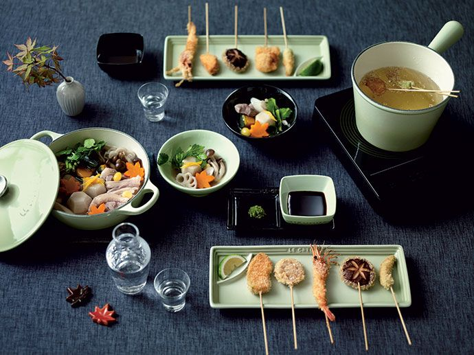 Le Creuset's New Wasabi Sushi Collection