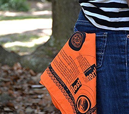 17. A Survival Bandana, with print-on survival guide.  #travel #gadgets #products