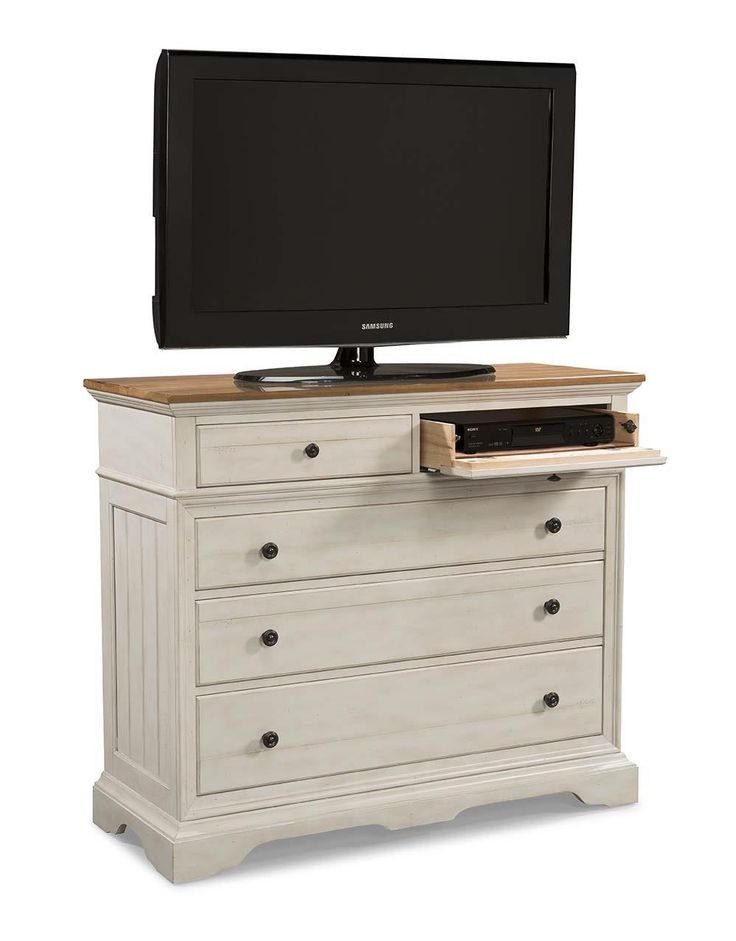 Cottage Small Media Dresser by Cresent Fine Furniture