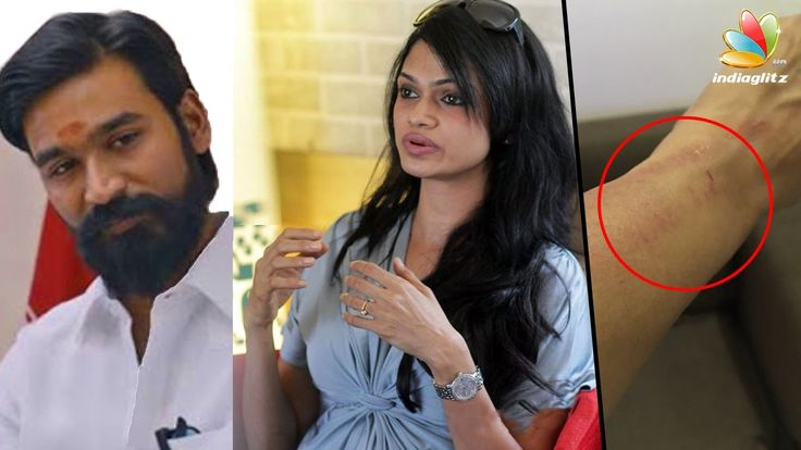 """Singer Suchitra Was Manhandled? Complains aginst Dhanush! 