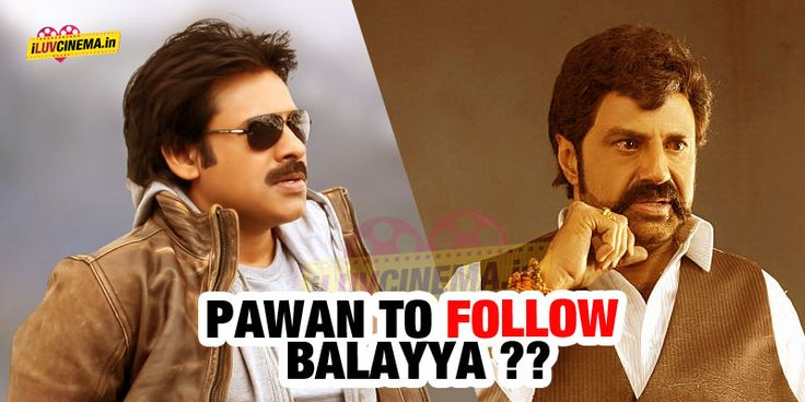 #Pawan to follow #Balayya ?