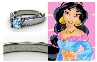 Un amore da favola: gli anelli di fidanzamento ispirati alle principesse #Disney | #Jasmine