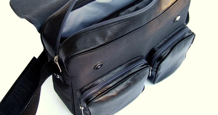 Leather and cordura bag  https://www.facebook.com/ducsaijudit.hu