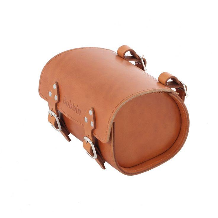 Bobbin Leather Saddle Bag   Cyclechic   Cyclechic
