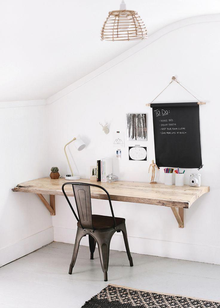 Trending Kitchen Desk Ideas 2019 In 2020 Farmhouse Diy Projects Diy Desk Plans Live Edge Wood Desk